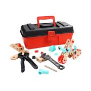 特宝儿百变拆装螺母工具箱玩具 红色