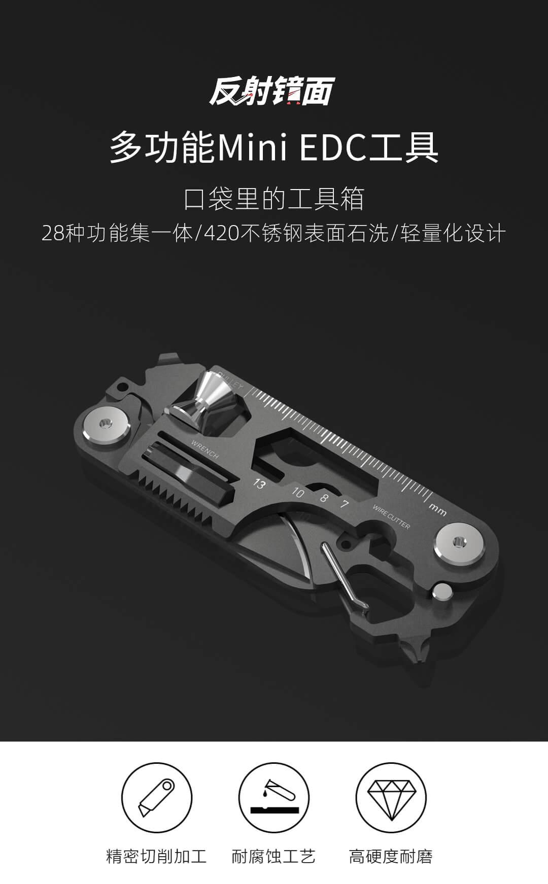 Herramienta Xiaomi Youpin, lo último en supervivencia - Noticias Xiaomi