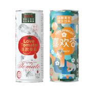 红帆优农 零脂肪蜂蜜番茄汁/冰糖黄杏汁饮料245*12罐