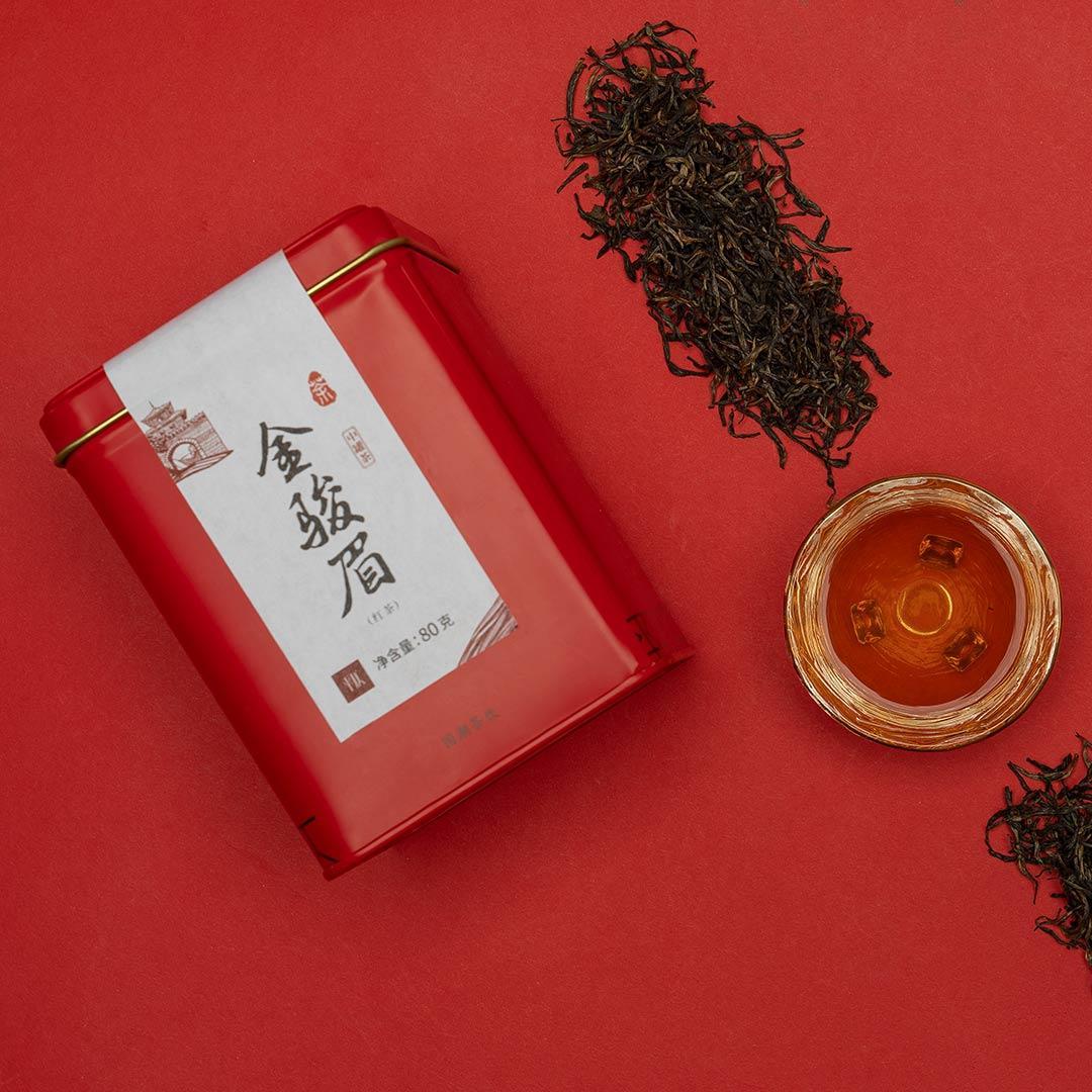 小米有品代下单  平仄中罐茶系列 红茶 金骏眉 80g/罐